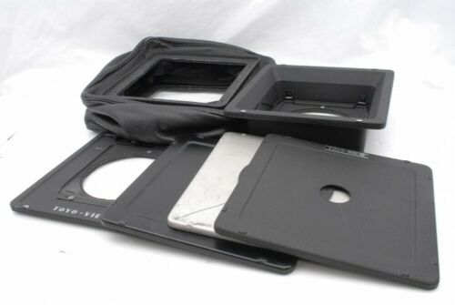 Toyo View 4x5 Lens Board 3 and Adapter 2 Wide Bellows Set *B21094