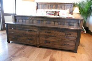 Solid Reclaimed Wood Storage Trunk $1695. By LIKEN Woodworks
