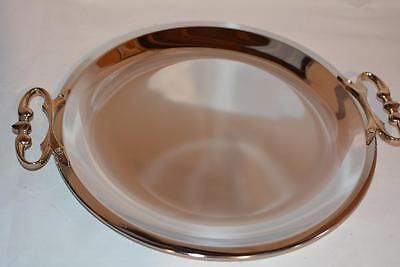 50s Vintage VOGUE KROMEX Chrome Serving Tray Platter Wedding Tea Party Eames Old