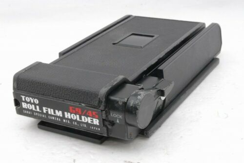 Toyo 69/45 Roll Film Back Holder 6x9 to 4x5 Camera *TP1337
