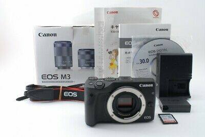 Canon EOS M3 24.2 MP Mirrorless Camera Body Only W/Box Japan [Exc+++] #552858A