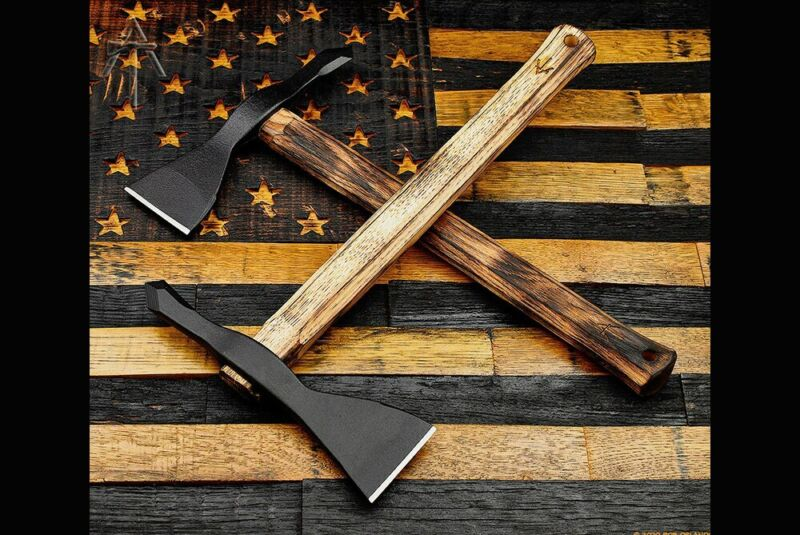 American Tomahawk Company Model 1 - Hickory Handle - Gold Point Forge Edition