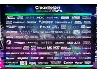 Two - 3 Day Gold Camping Tickets to Creamfields 2018