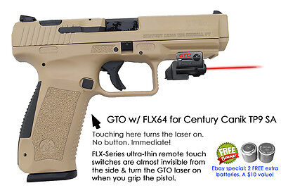 Armalaser Gto For Century Canik Tp9 Sa   Red Laser Sight W  Flx64 Grip Touch