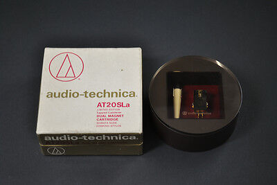 Limited Edtion !! Audio Technica AT-20SLa SHIBATA Stylus MM Cartridge