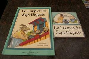 19 Assorted French Children's Books