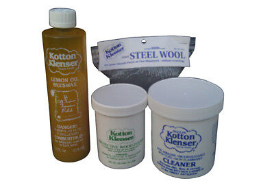 Kotton Klenser Wood Restoration Cleaning Kit