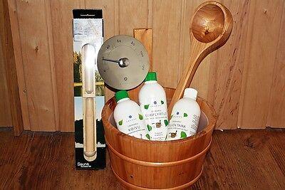 Secchiello per Accessori Cestino infusione sauna Set infuso olio
