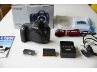Canon 5dMK3 22mp DSLR Camera Brand new unused and boxed £1750