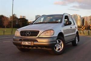 ~ Mercedes-Benz ~ W163 2001 ~ ML270 Turbo Diesel ~ Sunroof RWC ~ St Kilda East Glen Eira Area Preview