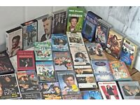 VHS Cassettes Many Different Titles Job Lot of 100