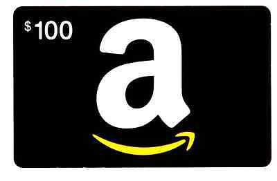 Amazon $100 Gift Card Mail Delivery Only