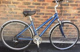 17 inch Giant Cypress Ladies cycle lightweight aluminium Hybrid Bike Commuter, Town bicycle