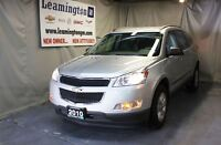 2010 Chevrolet Traverse Local trade in with VERY LOW KM's and in