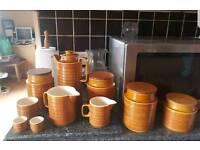 Hornsea pottery saffron 10 pieces