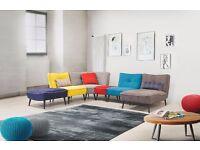MODULO Modular Corner Sofa Brand New Waterproof Fabric We can Delivered