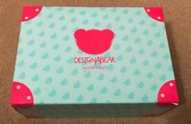 Designer bear wardrobe