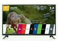 "LG 32"" Smart LED TV Black with Freeview HD with Built-in WiFi."