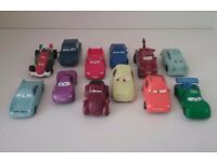 DISNEY FIGURES CARS BUNDLE CAKE TOPPERS LIGHTNING MCQUEEN ETC