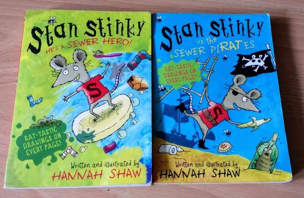 Stan Stinky early reader boys books