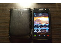 BlackBerry Storm 2 9520 Unlocked w/ case VGC
