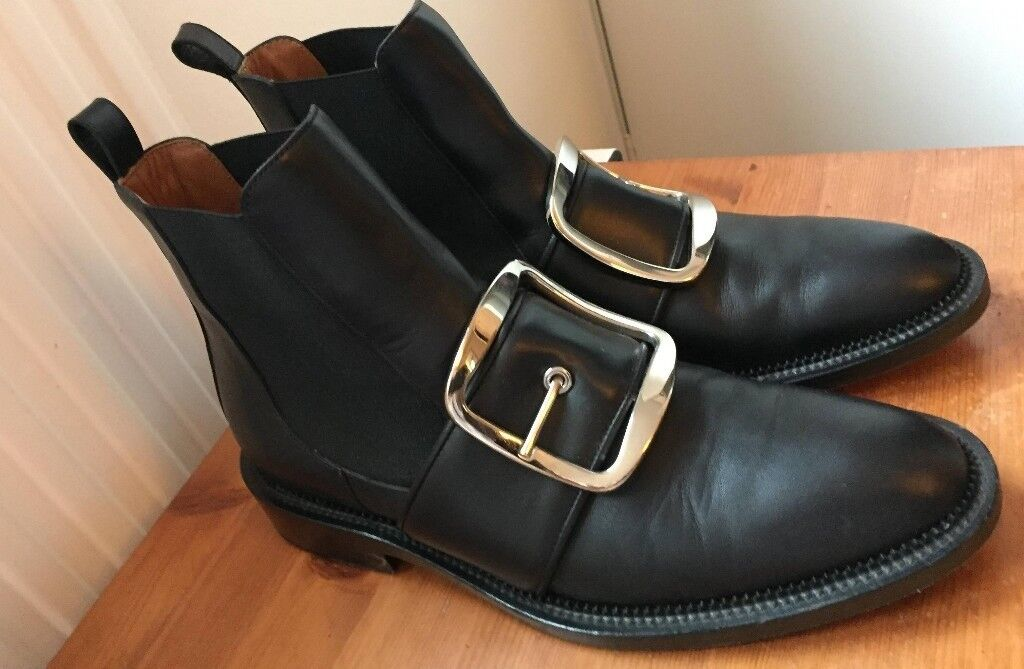 Women s Givenchy Buckle-Strap Tina Boots  d4e7f316dd