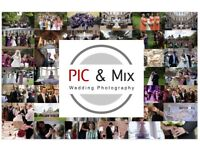 PIC&Mix Wedding Photography! Pay as little or as much as you wish!