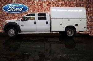 2014 Ford F-450 4x4 Crew Cab XLT Mechanics Box