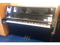 Kawai K15e Upright Piano | As New | 5 Year Guarantee | Free Stool and Free Delivery | Black Polish!