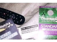 Creamfields Silver 4 Day Camping Festival Ticket