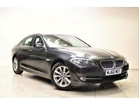 BMW 5 SERIES 3.0 525D SE 4d AUTO 202 BHP + 1 OWNER + SERVICE HISTORY (grey) 2010