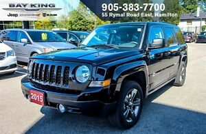 2015 Jeep Patriot HIGH ALTITUDE, 4X4, BLUETOOTH, REMOTE START, P