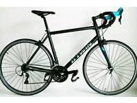 10.9kg 56cm B'twin Triban 500 Carbon Forks Road Racing Bike Reconditioned btwin