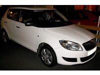 2013 Skoda Fabia S 12v White Petrol 1.2 5 door Hatchback FSH 26k 1 year warranty