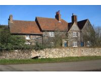 single bedsitter, farmhouse near Hatfield, own transport essential. pleasant large, warm room