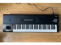 Korg M1 Workstation Synthesizer + Manual. VGC
