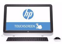 HP All-in-One TOUCHSMART 22-3160na QUAD CORE AMD A6 APU RADEON R4 2.4GHz 4GB/1TB