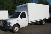 2012 Ford E-350 16 ft gas cube van