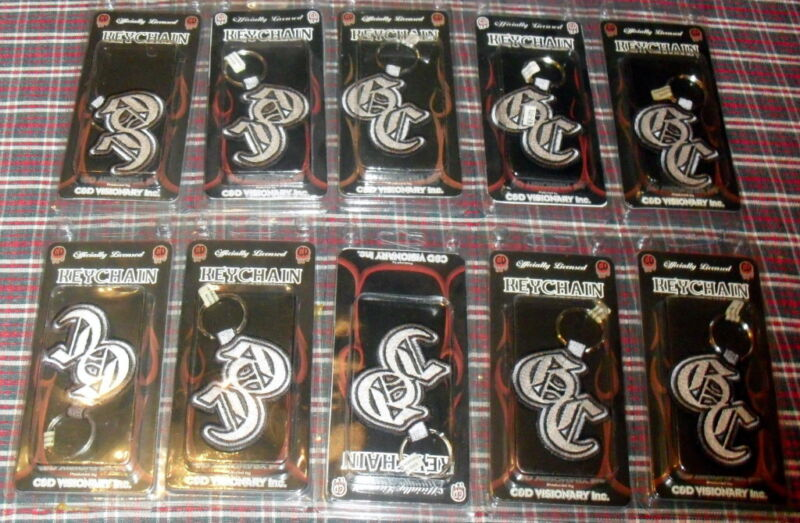 GOOD CHARLOTTE *BRAND NEW SEALED IN BOX* KEY CHAIN LOT 50 LICENSED PRODUCT