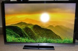 """46"""" Sony Bravia LED Smart Television in Excellent Condition (Model: KDL-46EX713)"""