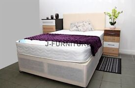 "Best Deal! 8.5 "" Good Quality Deep Quilt Mattress.Medium Firm.All Sizes Available.Factory Shop!"