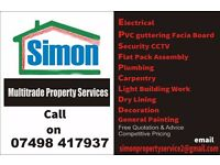 Need Help? Multi trade Property Services Handyman very reasonable rates :-)