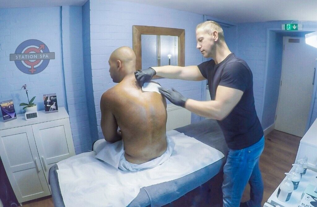 Waxing - Male Waxing - Intimate Waxing For Men - Massage at Station