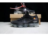 **OFF WHITE X NIKE VAPORMAX** OFFWHITE OFF WHITE