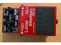 Boss RC2 Loop Station guitar pedal