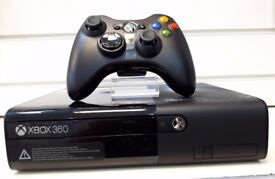 Xbox 360 , Black , 4GB, WI-FI , In Excellent Condition Like Brand New , Fully Boxed & Accessories