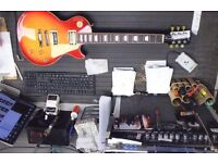 Gibson Les Paul classic 2015 electric guitar not fender prs ibanez