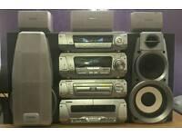 Technics 5 Disk Dvd/Cd Stereo £160