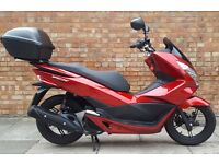 Honda PCX 125 (15 REG), Immaculate Condition, ONLY 300 MILES!