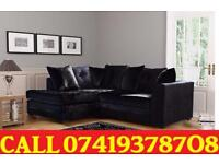 New Style 50% OFF --- CRUSH VELVET SOFA 3 AND 2 SEATER SOFA OR CORNER SOFA